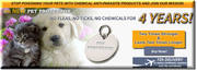 Pet Protector flea and tick prevention disc