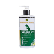NATURAL ANIMAL SOLUTIONS OMEGA 3 6 9 OIL FOR DOGS 500ML