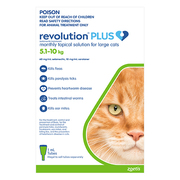 Revolution Plus for Large Cats 5 - 10Kg (Green)