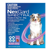 Nexgard Spectra For Dogs – Heartworm,  Flea and Tick Protection