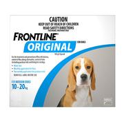 Buy Frontline Original for Medium Dogs - Flea and Tick Prevention