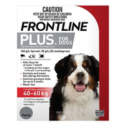 Frontline Plus - Flea and Tick Control for XLarge Dogs