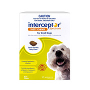 Interceptor Spectrum for Small Dogs 4 to 11kg