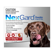 Nexgard Chewables for Large Dog 25 to 50kg