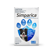 Simparica Chewables for Large Dogs 20.1- 40Kg