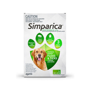 Simparica Chewables for XLarge Dogs 40.1-60Kg