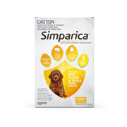 Simparica Chewables Flea and Tick Monthly Treatment for Dogs