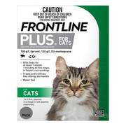 Buy Frontline Plus for Cats - Monthly Flea Control