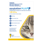 Revolution Plus for Kittens and Small Cats (1.25 to 2.5 kg)