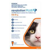 Revolution Plus for Medium Cats (2.5 to 5 kg)