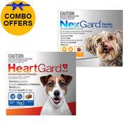 Buy NexGard And HeartGard Plus Dogs Bundle Pack online