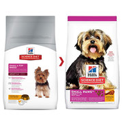 Buy Hills Science Diet Adult Small Paws Chicken Meal & Rice Dry Dog