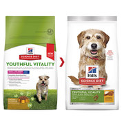 Hills Science Diet Adult 7+ Youthful Vitality Small Chicken Dry food