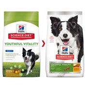 Hill's Science Diet Adult 7+ Vitality with Chicken & Rice dry dog food