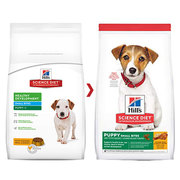 Hills Science Diet Puppy Small Bites Chicken & Barley Dry Dog Food