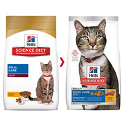 Buy Hills Science Diet Adult Oral Care Chicken Dry Cat Food Online