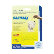 Canimax Oral Worm and Heartworm  Control for Medium Dogs (5 - 10 kg)