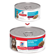 HILL'S SCIENCE DIET ADULT OCEAN FISH ENTRÉE CANNED CAT FOOD