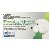Paragrad Broad Spectrum Wormer for Small Dogs (up to 5 kg)