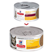 HILL'S SCIENCE DIET ADULT URINARY HAIRBALL CONTROL SAVORY CHICKEN ENTR