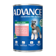 Buy Advance Adult Dog All Breed with Chicken, Selmon and Rice Cans onli
