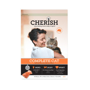 CHERISH COMPLETE CAT ADULT SALMON AND CHICKEN DRY CAT FOOD