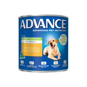 Advance Adult Dog Weight Control All Breed with Chicken & Rice Cans on