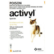 Buy Branded Activyl for Dogs and Cats online at Lowest Price |Flea and
