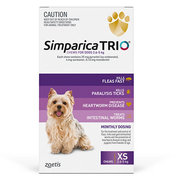 Buy Branded Simparica Trio for Extra Small Dogs at Lowest Price |Flea