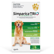 Buy Branded Simparica Trio for Large Dogs at Lowest Price |Flea and Ti