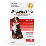 Buy Branded Simparica Trio for Extra Large Dogs at Lowest Price |Flea
