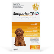 Buy Branded Simparica Trio for Puppy at Lowest Price |Flea and Tick Co