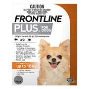 Buy Frontline Plus Flea and Tick Treatment for Dogs|Pet Care Products