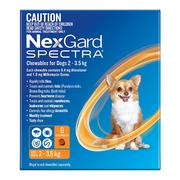 Buy Nexgard Spectra Flea, Tick and Heartworm Treatment for Dogs