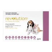 Buy Revolution Flea and Heartworm Treatment for Dogs|Pet Care Products