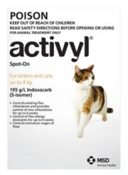 Buy Activyl For Cats - Flea Control & Tick Treatment for Cats