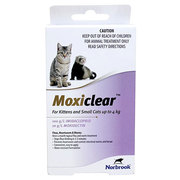 Buy Moxiclear Flea and Worm Treatment for Cats|Pet Care| VetSupply