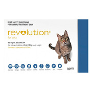 Buy Revolution Flea and Worm Treatment for Cats|Pet Care| VetSupply |