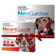Buy Heartgard plus Nexgard Combo for Dogs|Flea,  Tick and Heartworm