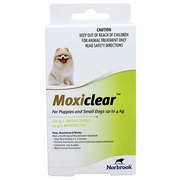 Buy Moxiclear Flea and Worm Treatment for Dogs|Pet Care| VetSupply