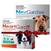 Buy Nexgard and Heartgard Combo for Dogs|Flea,  Tick and Heartworm