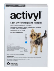 Buy activyl for Dog for flea and tick Control Online -DiscountPetCare