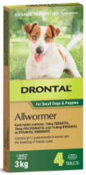 Buy Drontal All Wormer-for-dogs Online - VetSupply