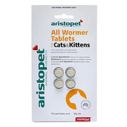 Buy Aristopet Allwormer Tablets for Cats and Kittens Online