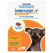 Buy Interceptor Spectrum Tasty Chews For Dogs Online - VetSupply