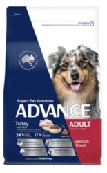 Buy Advance Adult Medium Breed Turkey with Rice Dry Dog Food|Pet Food