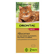 Buy Drontal Wormer Tablets for Cats Online at Lowest Price