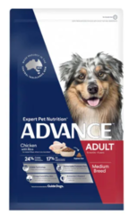 Buy Advance Adult Medium Breed Chicken with Dry Dog Food|Pet Food