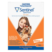 Buy Sentinel Heartworm Prevention for Dogs Online - VetSupply