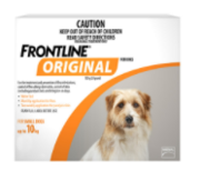Frontline Original Flea & Tick Control For Dogs Online